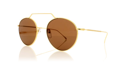 Illesteva Wynwood 2 7A Gold Sunglasses