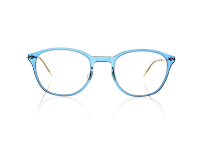 Lindberg n.o.w.titanium 6506 C08-P10 Blue transparent Glasses at OCO