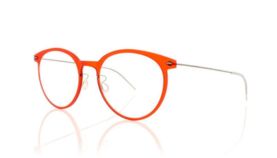 Lindberg n.o.w. titanium 6537 C18M-10 Matt Red Glasses at OCO