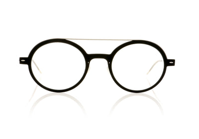Lindberg n.o.w titanium 6543 D16/P10 Charcoal with silver temples Glasses at OCO