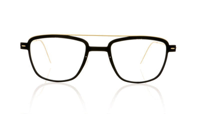 Lindberg n.o.w.titanium 6546 D16/GT Matt Dark Black Glasses at OCO