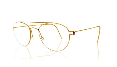 Lindberg Air titanium rim Christoffer PGT Polished Gold Glasses