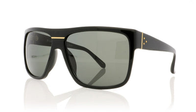 Linda Farrow LFL/408 C1 Black Sunglasses at OCO