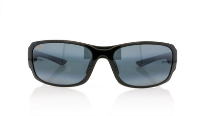 Maui Jim MJ415 02J Mj Gloss Black Fade Sunglasses at OCO