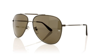 Oliver Goldsmith Colt 3 Gun Metal Sunglasses at OCO