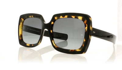 Oliver Goldsmith Fuz 99 Black Leopard Sunglasses at OCO