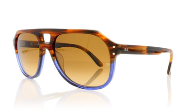 Oliver Goldsmith Glyn 16 Blue Sea Bed Sunglasses at OCO