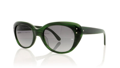 Oliver Goldsmith Sophia 19 Evergreen Sunglasses at OCO