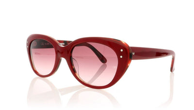 Oliver Goldsmith Sophia 22 Red Tortoiseshell Sunglasses at OCO