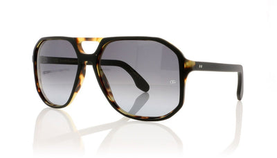 Oliver Goldsmith Spillane 3 Matte Black Leopard Sunglasses at OCO