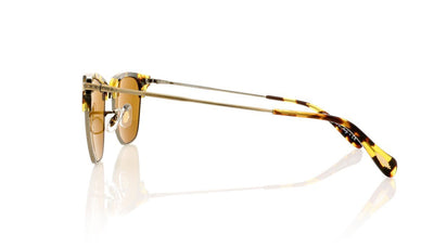 Oliver Peoples Banks Sun 0OV1145-S 50398B Antique Gold Sunglasses at OCO
