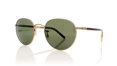 Oliver Peoples Hassett 0OV1203S 5261P1 Brushed Gold Sunglasses at OCO