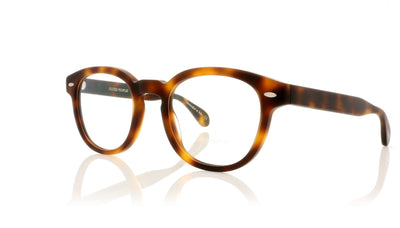 Oliver Peoples Sheldrake OV5036 1552 Semi Matte Dark Mahogany Glasses at OCO