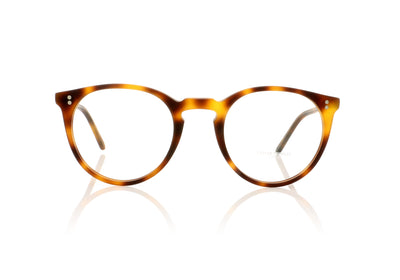 Oliver Peoples O'malley OV5183 1552 Semi Matte Mahogany Glasses at OCO