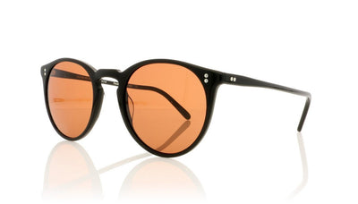 Oliver Peoples The Row O'malley NYC OV5183SM 100553 Pure Black Sunglasses at OCO