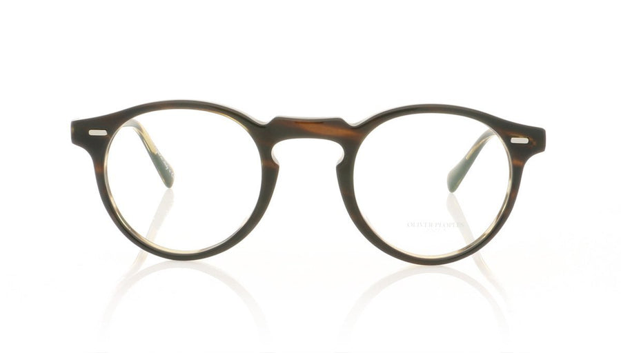 a3ae3a4c8f Oliver Peoples Gregory Peck OV5186 1003 Coco Bolo Glasses at OCO