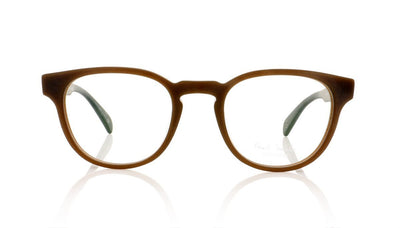 Paul Smith Kendon PM8210 1395 Matte Burnt Clay Glasses at OCO