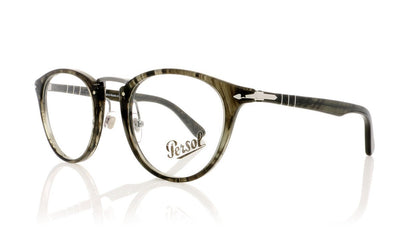 Persol 3107-V 1020 Strpd Gry Glasses at OCO