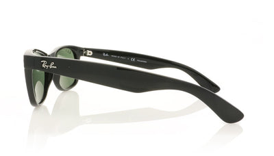 Ray-Ban New Wayfarer RB2132 901/58 Black Sunglasses at OCO