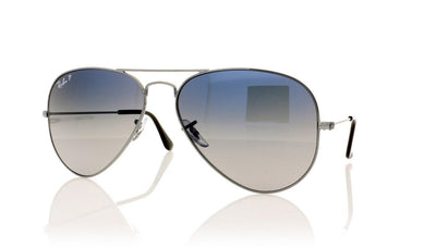 Ray-Ban Aviator Large Metal RB3025 004/78 Gm Sunglasses at OCO