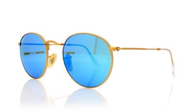 Ray-Ban RB3447 112/4L Mt Gld Sunglasses at OCO