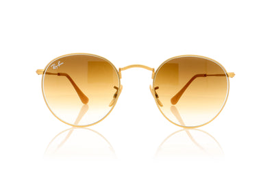 Ray-Ban RB3447 112/51 Matte gold Sunglasses at OCO