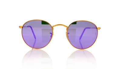 Ray-Ban RB 3447-N 0RB3447N 0018O Shiny Gold Sunglasses at OCO