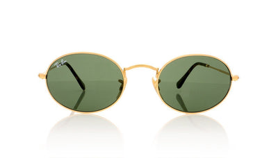 Ray-Ban RB 3547 0RB3547N 1 Gold Sunglasses at OCO