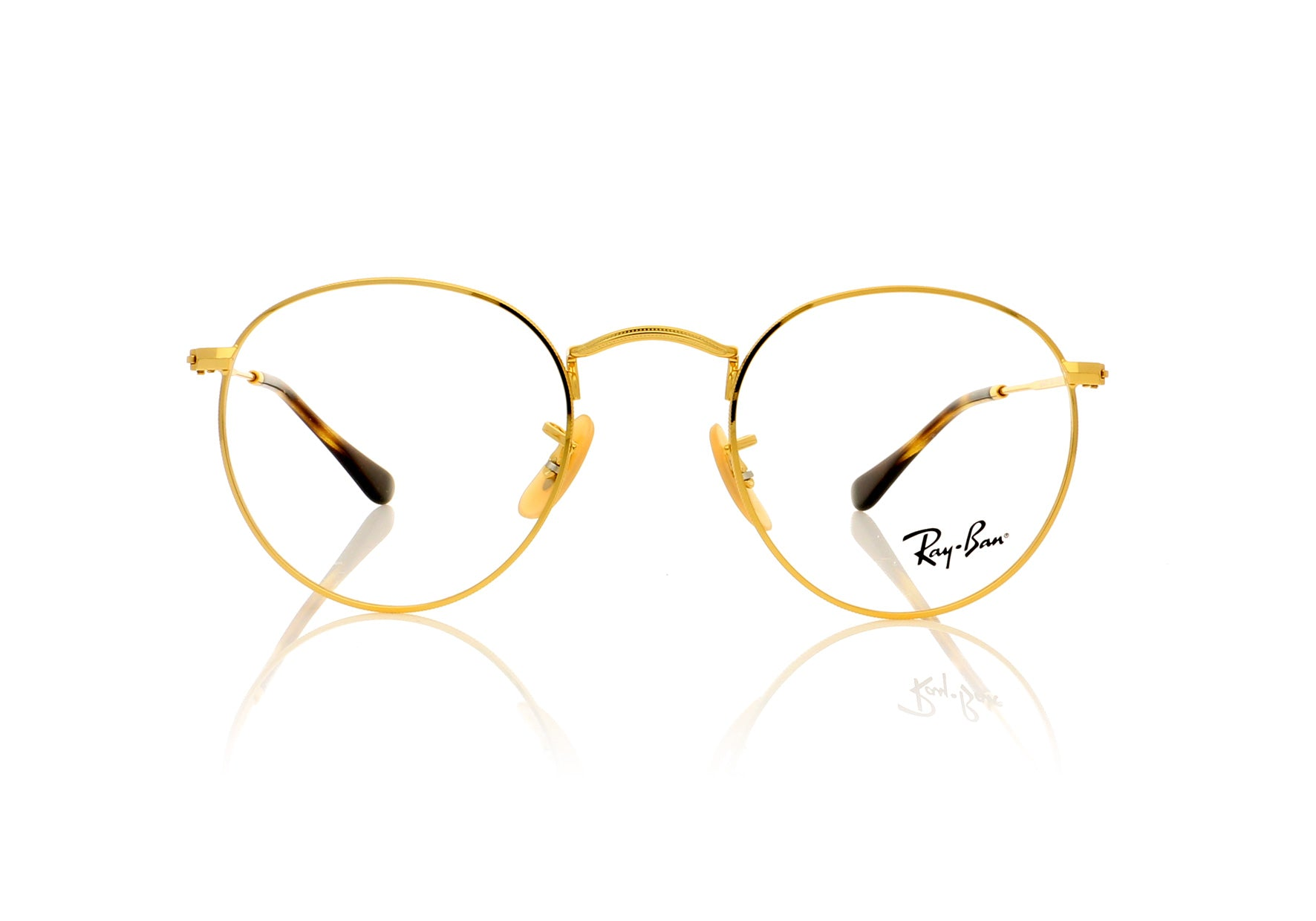 79fe794d80 Ray-Ban Round Metal RX3447V 2500 Gold Glasses