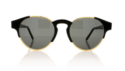 RETROSUPERFUTURE Arca T25 Black Sunglasses at OCO