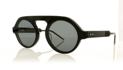 Thom Browne TBS413 TBS413-52-01 BLK Black Sunglasses