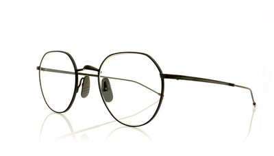 Thom Browne TBX914 03 Black Iron Navy Glasses at OCO