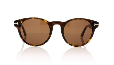 Tom Ford Palmer TF0522 52E Dark Havana Sunglasses at OCO