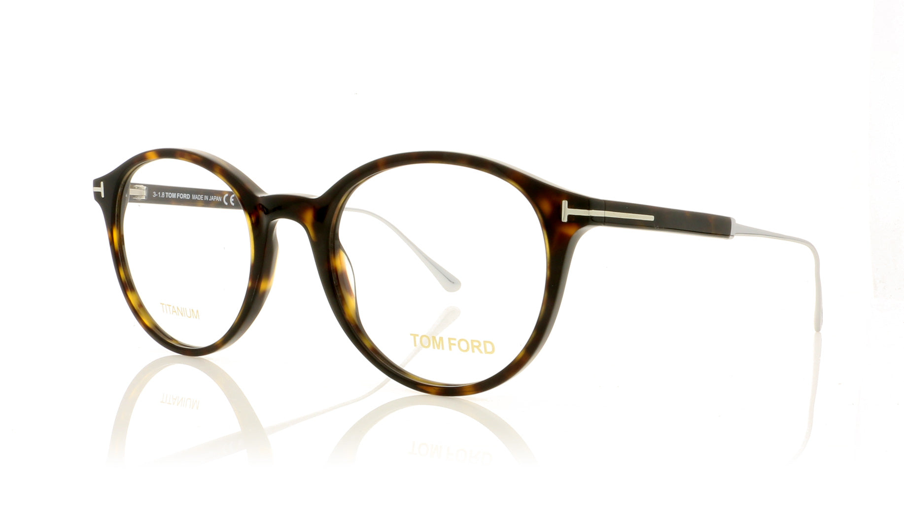 a2d5c1068cd6 Tom Ford TF5485 052 Dark Havana Glasses