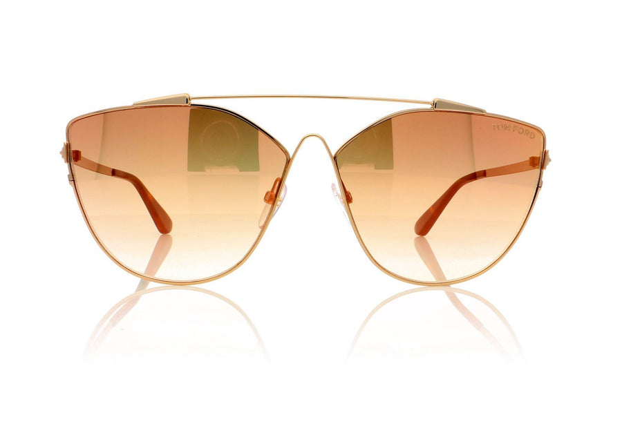 65cac06abf0 Tom Ford Jacquelyn TF0563 33G Gold Sunglasses at OCO