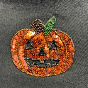 Black Long Sleeve Halloween Top