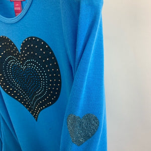 Dreamstar Blue Long Sleeve Top Girls Size Large 14