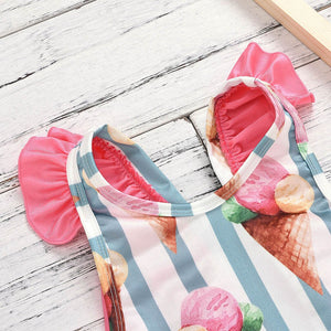 Ice Cream Swimsuit for your Baby Girls