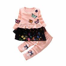 Little Girl's 2pc Butterfly Outfit