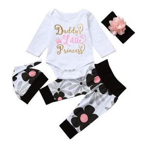 Daddy's Little Princess 4PC Outfit