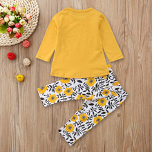 Little Miss Sassy Pants 2pc outfit | Sunflowers