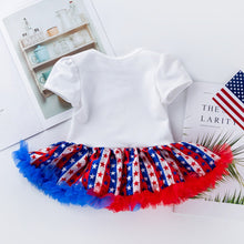My First 4th of July Dress with Matching Headband