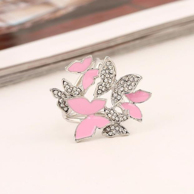 Tricyclic Butterfly Scarf Buckle Brooch Holder Scarf Jewelry BK