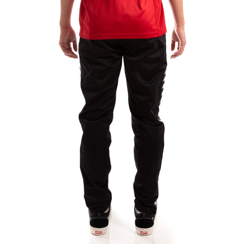 Kappa 222 Banda Astoria Slim Black Black Pants