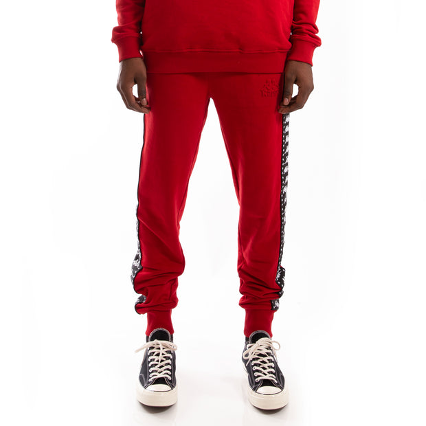 Kappa Authentic Bzaliw Red Dk Black Pant