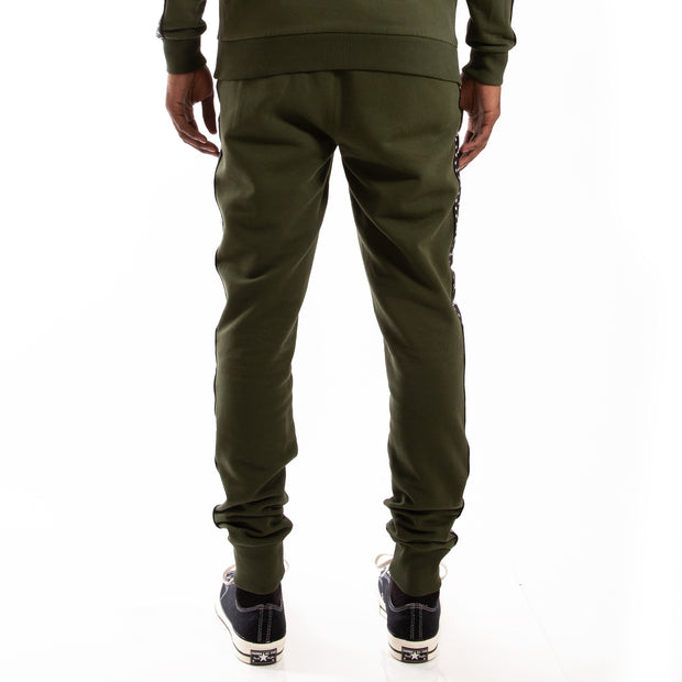 Kappa Authentic Bzaliw Green Africa Black Pant