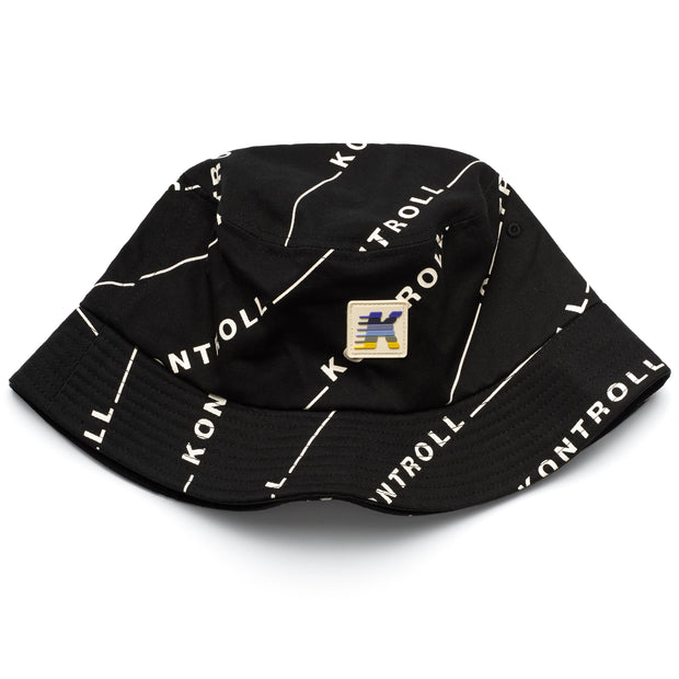Kontroll Bucket Cap - Black Bright White
