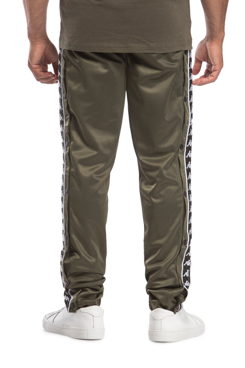 222 Banda Hector Green Africa Black Pants