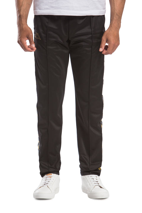 222 Banda Astoria Slim Black Gold Pants