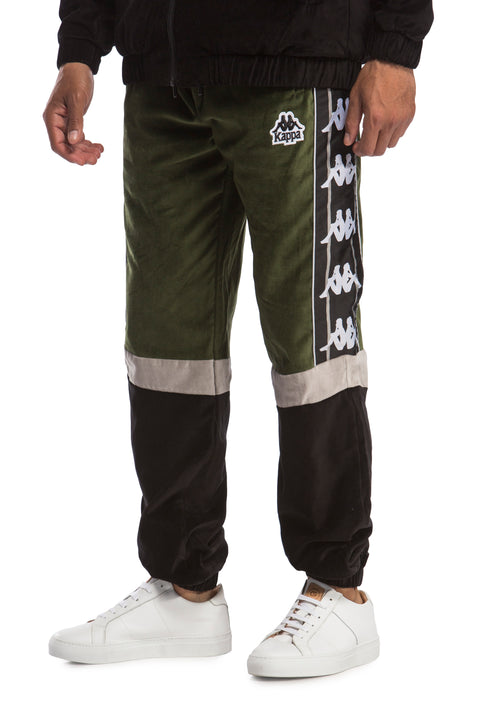 Kappa Authentic Serena Pants Green Grey Mist Black